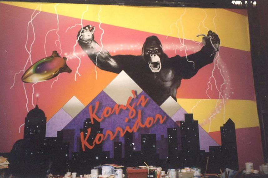King Kong mural - Monteclaire Edwards Cinema